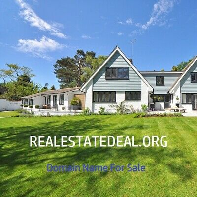 Domain Name     REALESTATEDEAL .ORG   Godaddy Valuation $1250