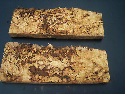 2 x Large BLACKHEART SASSAFRAS BURL Craft Slices