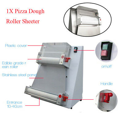 Commerical 370W Automatic Pizza Dough Roller Sheeter Machine Pedal Control Tool