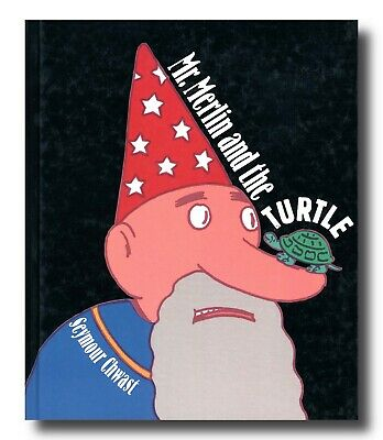 Seymour Chwast MR. MERLIN AND THE TURTLE hardcover with lift-the-flaps 1996 firs