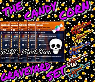 Modded Candy Corn Grave Digger Collection 💀🎖🍬 - Fortnite Save The World