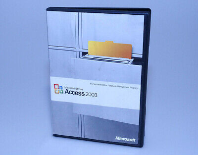 Microsoft Office Access 2003 GENUINE full retail Windows XP/Vista/7