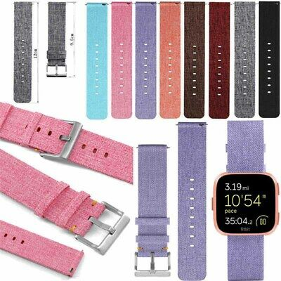 215mm Bracelet Band Strap For Fitbit-Versa Smart Watch Replacement New