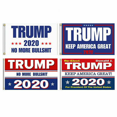Trump 2020 President Keep America Great Again 3x5 Ft MAGA Flag Banner Wholesale