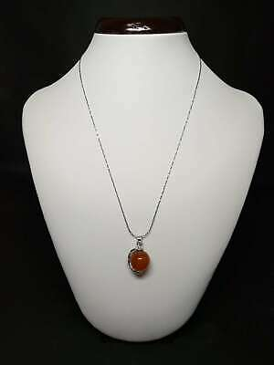 Exquisite Silver Inlaid Natural Jade Necklace & Pendant    Z279