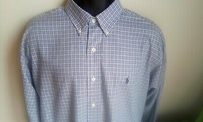 Boy/'s Ralph Lauren Long Sleeve Check Blake Shirts 9m-16yrs Brand New 100/% Genuin