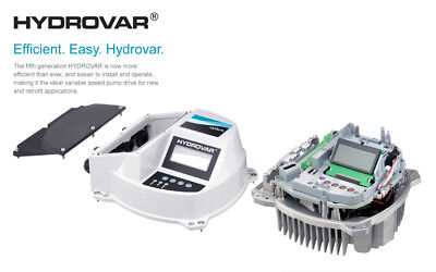 Xylem 5th Generation Hydrovar HVL2.015  motor mounted pump controller New!!!