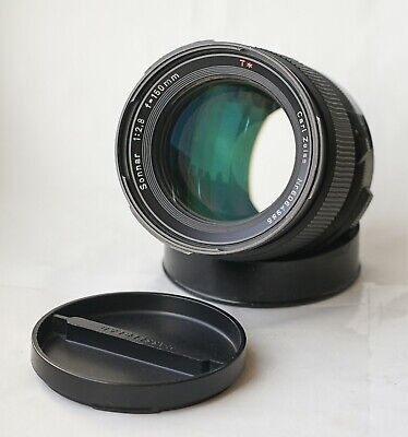 Carl Zeiss Sonnar Lens f2.8 150mm T* F for Hasselblad 2000/200 Series