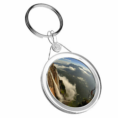1 x Salto Angel Falls Venezuela - Keyring IR02 Mum Dad Kid Birthday Gift #3636