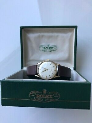 Vintage Rolex Precision 9ct Gold manual winder gent's watch, £2,250.00