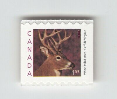 WHITE-TAILED DEER = small definitive Coil (roll) stamp Canada 2000 #1881 MNH VF