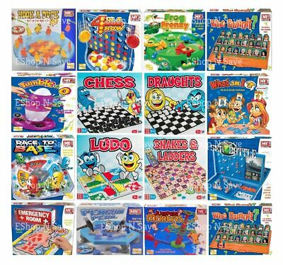 New NEW TRADITIONAL BOARD GAMES FOR FAMILY CHILDREN ADULTS PARTY LOTS TO CHOOS