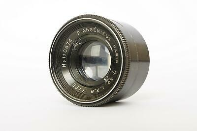 P. Angenieux Paris 50mm 1:2.9 Type Z2 lens