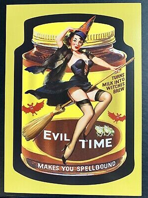 NEW Lost Wacky Packages VARIATIONS 8th SERIES UNCUT Puzzle EVILTIME