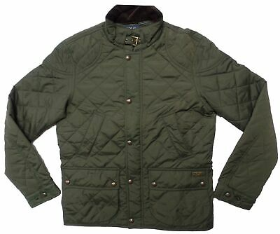 POLO RALPH LAUREN Men's Jacket Quilted Insulated Winter Car