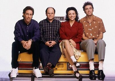 SEINFELD TV Show PHOTO Print POSTER Series Cast Art Jerry Elaine Kramer George 5