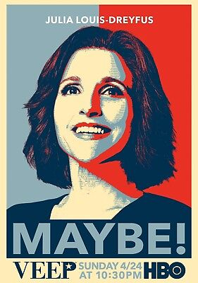VEEP TV Show PHOTO Print POSTER Series Art Julia Louis-Dreyfus Seinfeld 001