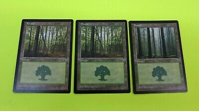 3x  FOREST PORTAL 1  2x B 1x D   BASIC LAND MAGIC THE GATHERING MTG CARD  #2 NM-