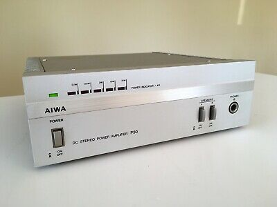 Vintage Aiwa Sa-P30 Mini Compo Stereo Power Amplifier - Excellent Condition