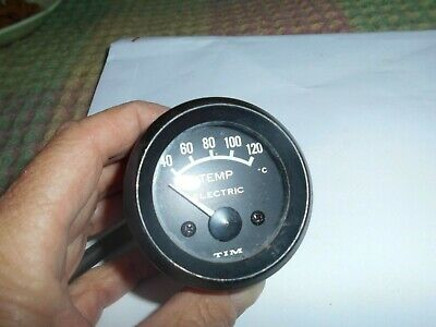 Vintage Tim electric temperature gauge - untested
