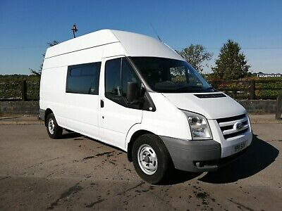 Ford Transit 2.2 350 Lwb  2011 Crew Van / Mess Van * Ideal Camper * Race Van **