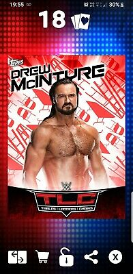 Topps WWE Slam Digital Card 29cc Drew McIntyre Tlc 2018