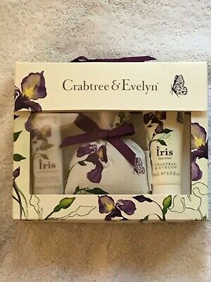 Crabtree & Evelyn IRIS  Mini Gift Set, NEW