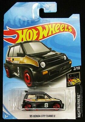 Hot Wheels 2019 Nightburnerz '85 Honda City Turbo II #2/10 - New!