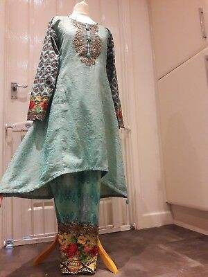 indian pakistani designer wedding/bridal  anarkali suit salwar Kameez   lengha