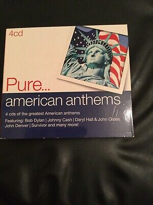 Various Artists - Pure... American Anthems (2014) 4 Cds,68 Tracks