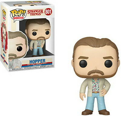Funko Pop! Television: - Stranger Things - Hopper (Date Nig (Toy Used Very Good)