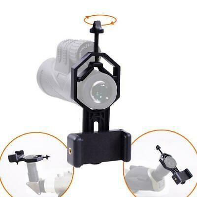 Universal Cell Phone Telescope Adapter Holder Mount Spotting Bracket Scope P3T9