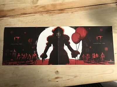 2 x ODEON Exclusive IT Chapter 2 A4 Poster Part 1 of 2 - Free Post - Pennywise