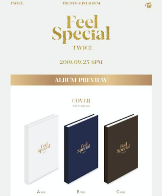 (PreOrder) TWICE - [ FEEL SPECIAL ] 8TH MINI ALBUM (3; Full SET) *FreeCustomize