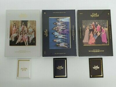 TWICE 8th Mini Album - FEEL SPECIAL 3 VER.SET  + Poster  (DHL)