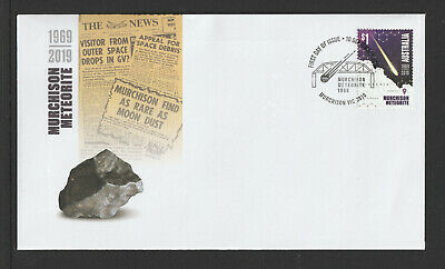Australia 2019 : Murchison Meteorite 1969 - 2019 First Day Cover, Mint Condition