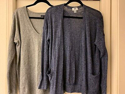 OLD NAVY SWEATERS LOT , size Large L V Neck Sweaters EUC