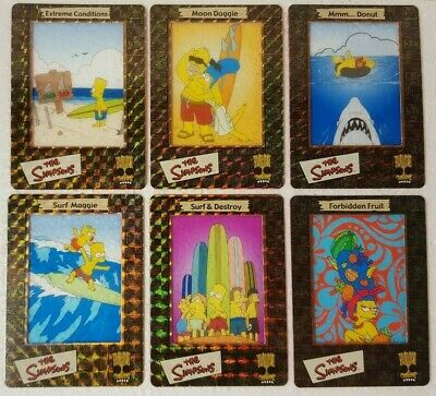 2000 Artbox The Simpsons FilmCardz Foil Set S1 - S10
