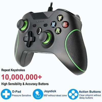 Hot Brand Premium Wired USB Controller for Microsoft Xbox One PC Windows 10 VU