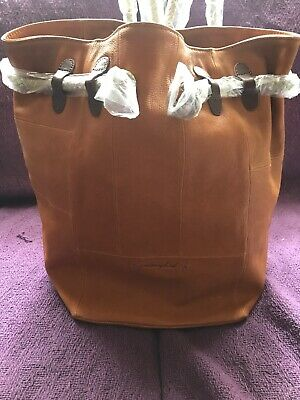 Stunning Brand New Nancybird Patch Bag Backpack Mustard Large