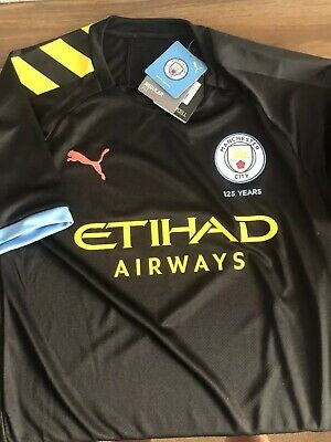 Official From Shop Manchester City Away Shirt 19/20 New Size XL