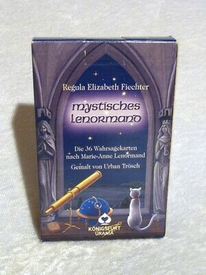 Mystiches Lenormand Oracle Fortune Telling Tarot Cards 38 Card Deck