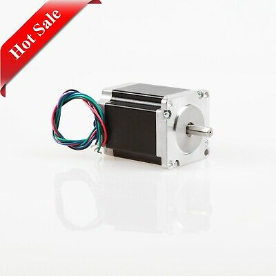 Hot Sale! Schrittmotor Nema 23 Stepper Motor 270 oz-in 3A 76mm Flat shaft CNC