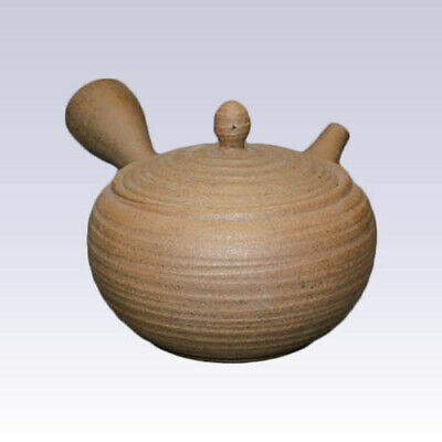 Tokoname Kyusu teapot - ISSIN - Tightening Rolls - 400cc/ml - Refreshing steel