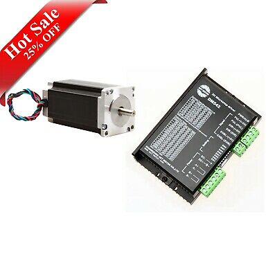 Hot Sale! Schrittmotor Nema 23 Stepper Motor 435 oz-in 4.2A &Driver DM542 CNC