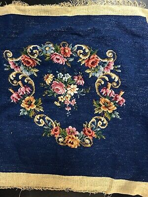 Antique French Woven Handmade Wall Hanging Tapestry
