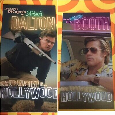 Once Upon A Time In Hollywood 1X CARD-ODEON-Cliff Booth -Quentin Tarantino 2019