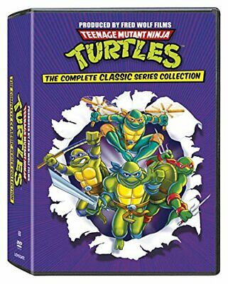 TMNT Complete Classic Series All 1-10 Seasons Collection DVD Set Episodes Volume