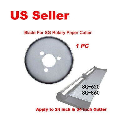 "​1 pc Replacement Blade for SG Brand 24"" 34"" Rotary Trimmer Cutter"