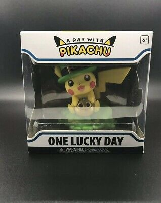 A Day With Pikachu One Lucky Day Funko Figure POP! Pokemon Center FREE SHIPPING!